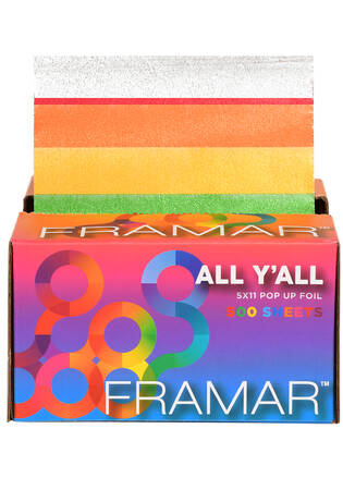 """Limited Edition! 5""""x11"""" All Y'All Pop Up Foil - 500 ct."""
