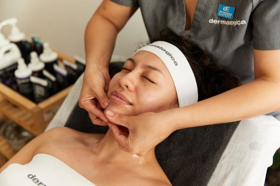 Dermalogica facial massage anchor
