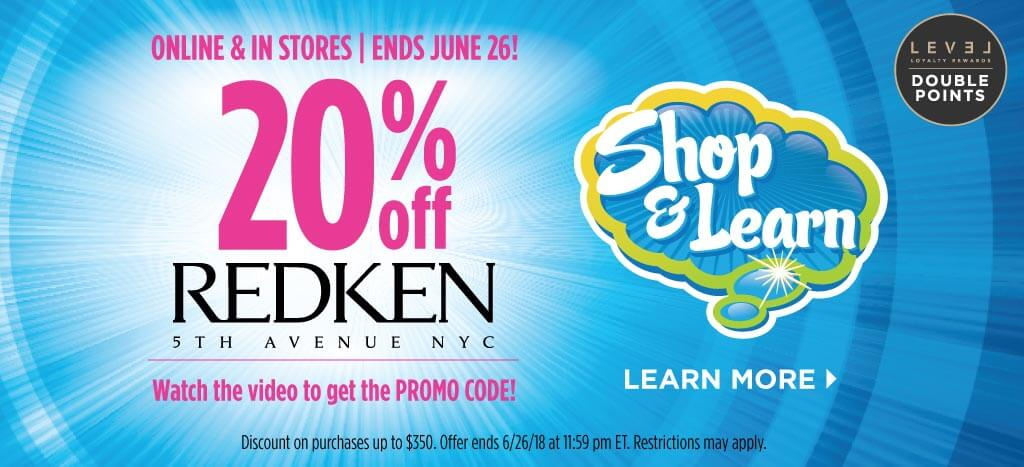 Redken Shop & Learn