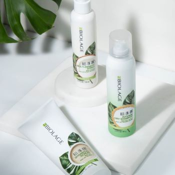 Biolage all in one support before and after saloncentric
