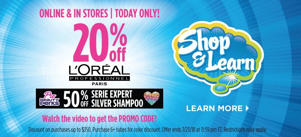 L'Oreal Professionnel Shop & Learn
