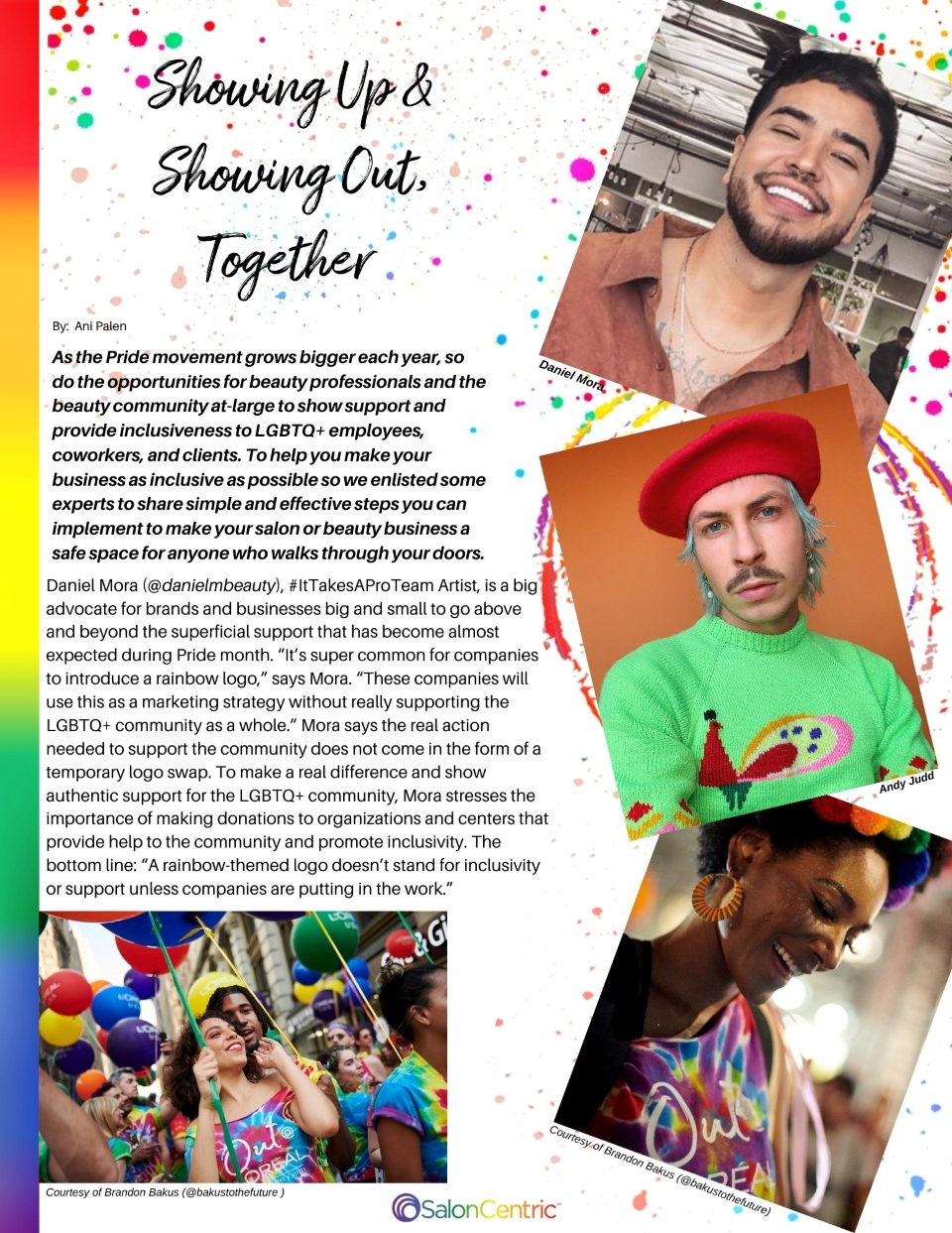 Page 1 How to be an ally Pride Magazine