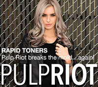 Violet, Silver & Natural Rapid Toners from Pulp Riot