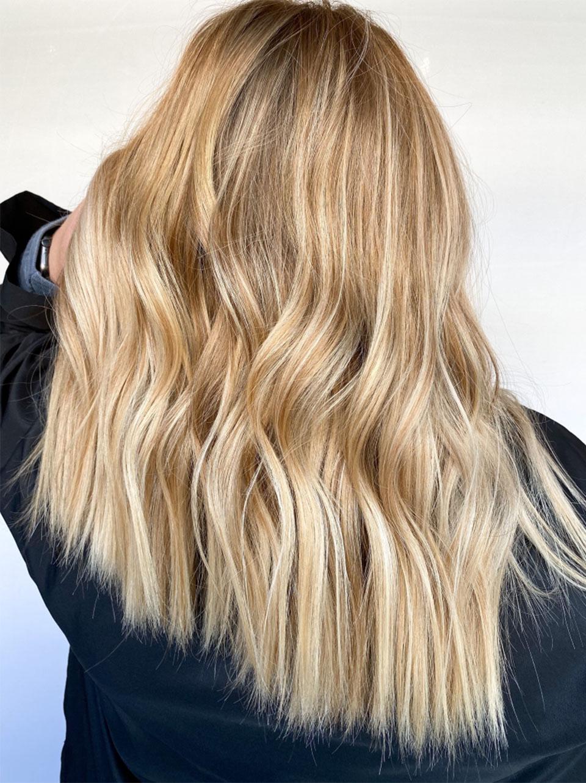 VG Anchor sunkissed blonde hair Redken