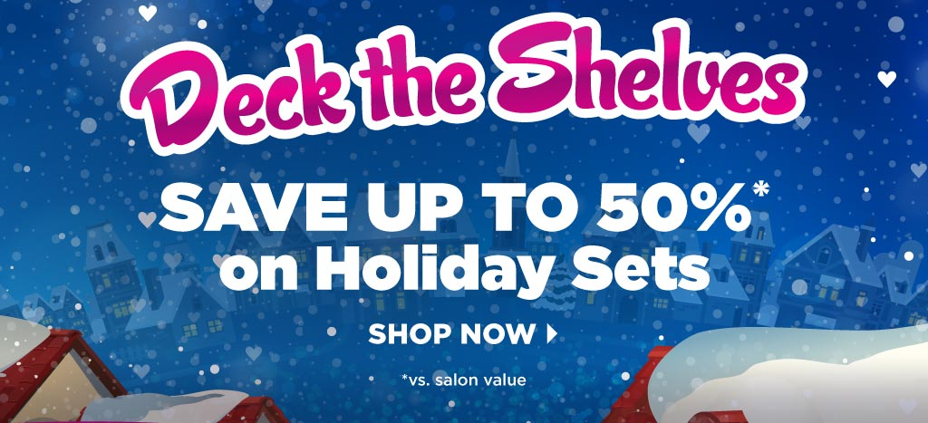 Holiday: Deck the Shelves
