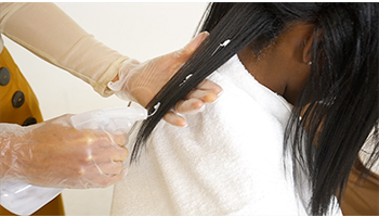 Relaxer-protection to ends