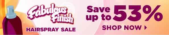 Hairspray Sale