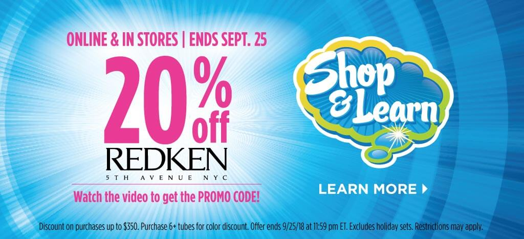Redken Shop & Learn