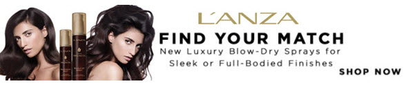 L'Anza Luxury Blow Dry Sprays