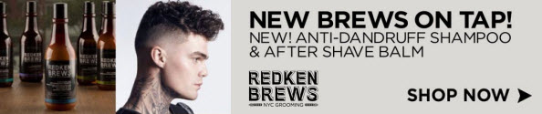 Redken Brews Anti-Dandruff Shampoo | After Shave Balm