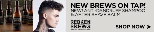 Redken Brews Anti-Dandruff Shampoo | After Shave Balm