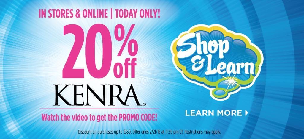 Kenra Shop & Learn