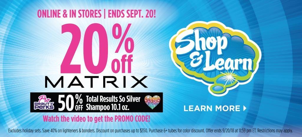 Matrix Shop & Learn