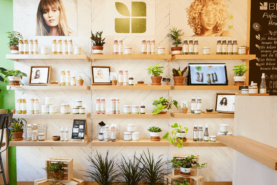 Biolage products on display | SalonCentric