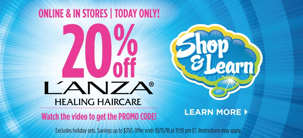 L'Anza Shop & Learn