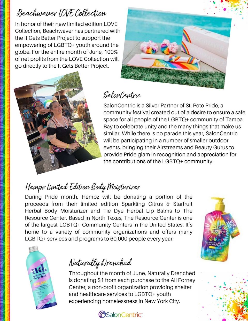 GB PAGE 2 Pride Digital Magazine giving back page 2