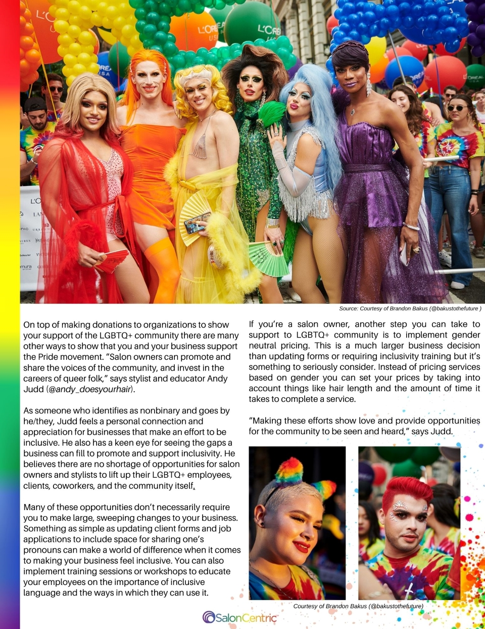 Page 2 How to be an ally Pride Magazine