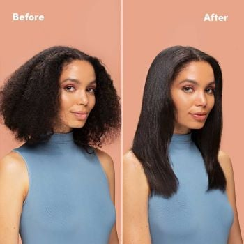 how to silk press before and after silk press mizani