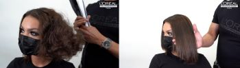 tutorial 3 loreal steampod how to use hair