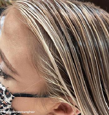 color fanatic mask hair shot