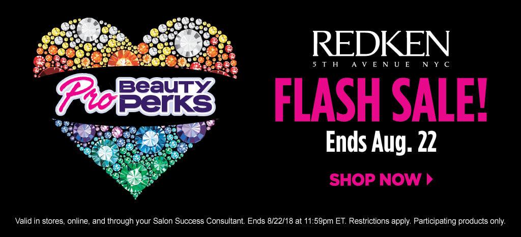 Redken Pro Beauty Perks Flash Sale