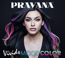 New! PRAVANA Heat Activating Color Line Vivids Mood