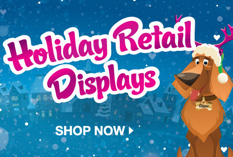 Holiday Shop: Retail Displays