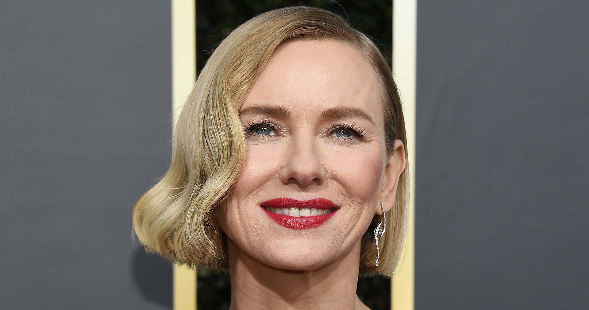 Naomi Watts Golden Globe Styled look