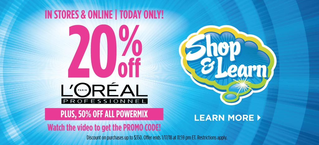 L'Oreal Professionnel Shop & Learn