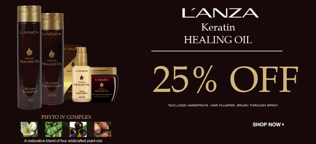 L'Anza Keratin Healing Oil Sale